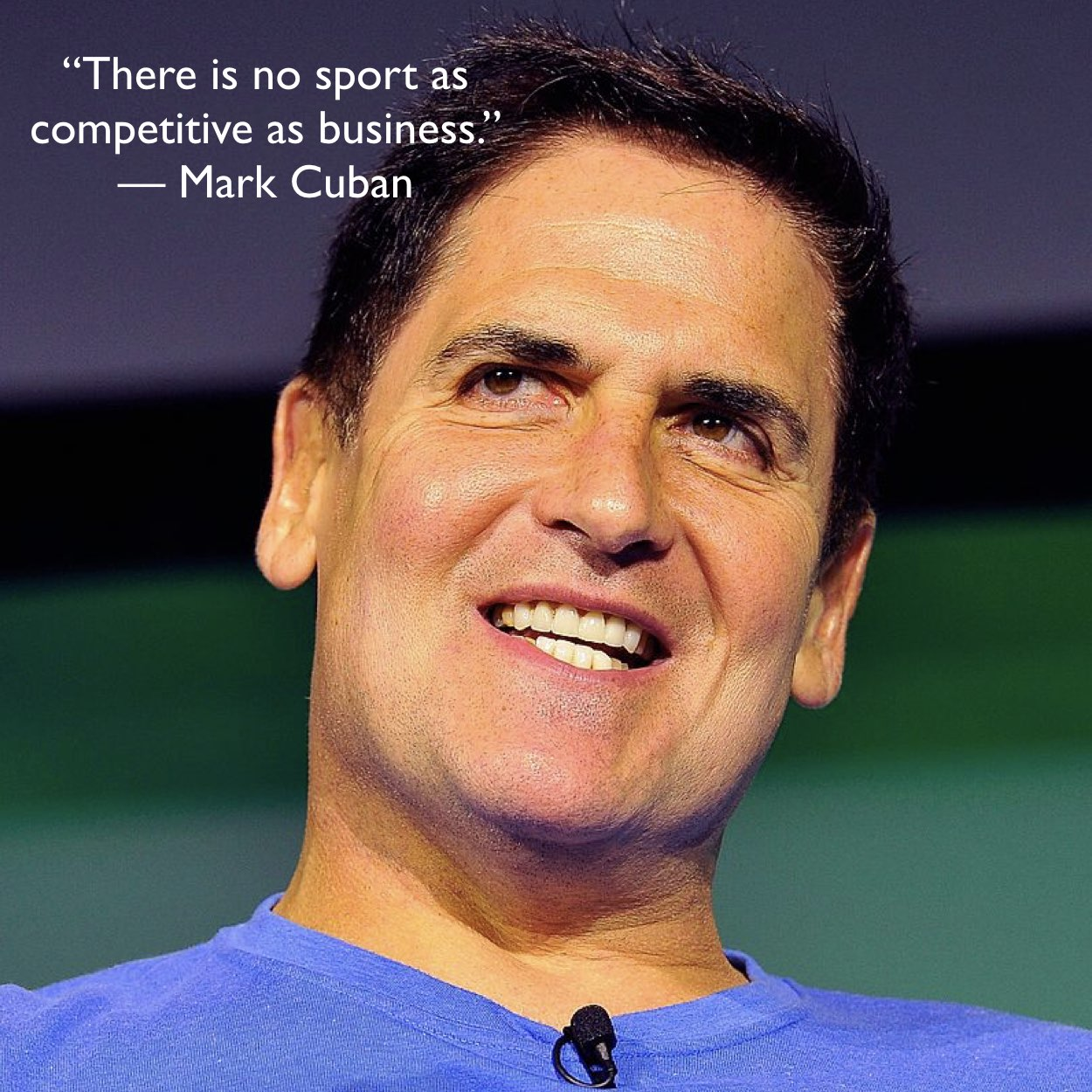 Why Benchmark Your Performance? Mark Cuban Makes A Compelling Case  In A Single Sentence